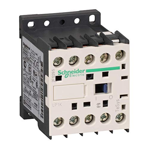 CONTACTOR, 3PST-NO, 24VDC, DINRAIL LP1K0910BD By SCHNEIDER ELECTRIC from Cyberall
