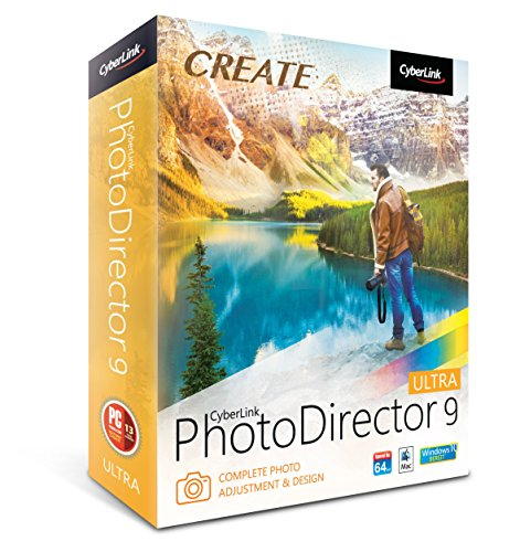 Cyberlink Photo Director 9 Ultra - Complete Photo Adjustment & Design (PC/Mac) from Cyberlink