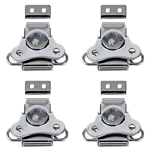 4 x DAP Butterfly Lock Small Metal Silver Flightcase Hardware Catch from DAP