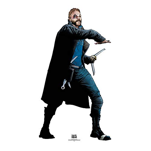 Star Cutouts Captain Boomerang Suicide Squad Life Size Cardboard Cut Out, Multi-Colour from Star Cutouts