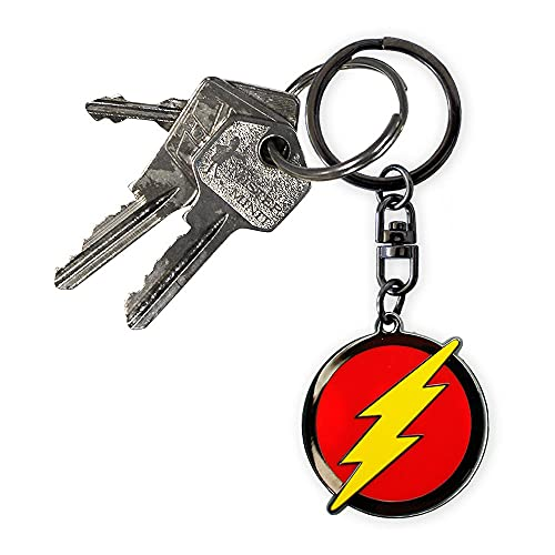DC Comics - The Flash - Metal Keyring - Fully Licensed from DC Comics