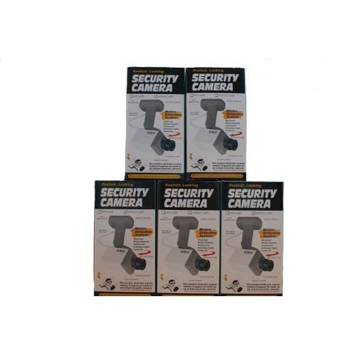 Dummy Security Cameras x 5 from DCC