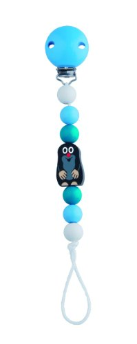 DETOA Baby Dummy Clip with Mole Blue from DETOA