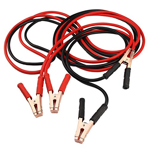 DHOUTDOORS Jump Leads Booster Cables Heavy Duty For Car Van Truck With Work Gloves(800AMP 6M Long) from DHOUTDOORS
