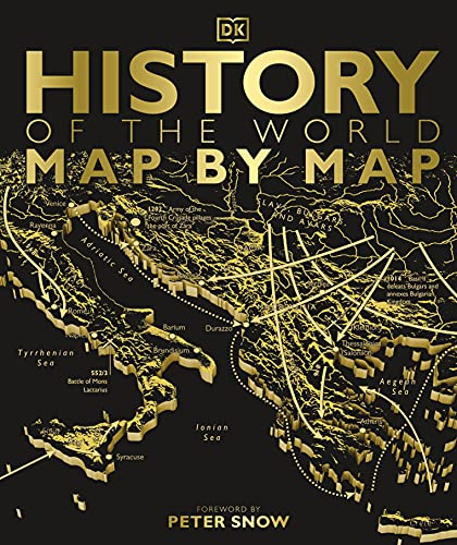 History of the World Map by Map (Historical Atlas) from DK