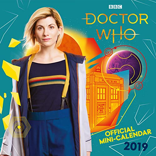Doctor Who Mini Official 2019 Calendar - Mini Wall Calendar Format from DOCTOR WHO