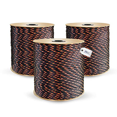 10m black polypropylene rope poly cord 4mm from DQ-PP