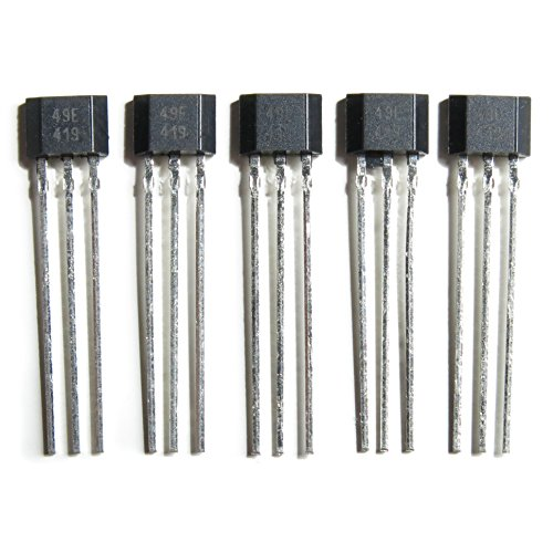 5x Hall Effect Sensor Linear Ratiometric 49E SS49E Electric Bike Throttle Repair from DRL Global