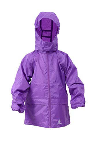 Dry Kids Packable Jacket Purple 3/4yrs from Dry Kids