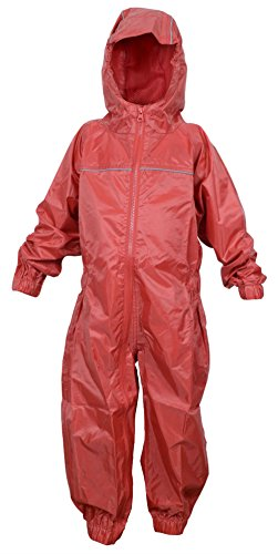 Dry Kids Waterproof Rainsuit Bright Red 11/12yrs from DRY KIDS