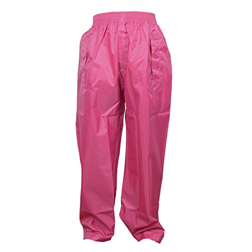 Dry Kids overtrousers raspberry pink 13/14 yrs from DRY KIDS