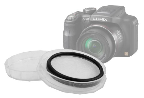 DURAGADGET 52mm UV Filter Protector - Compatible with Panasonic Lumix DMC-FZ40, DMC-FZ45, DMC-FZ47, DMC-FZ48, DMC-FZ100, DMC-FZ150, FZ45, FZ40, FZ47, FZ48, FZ62, FZ100, FZ150, FZ200 - Ideal Lens Protection from DURAGADGET