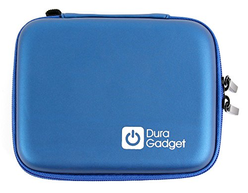 DURAGADGET Blue Protective Shell Case - Compatible with Insulin Diabetes Medical Supplies Shell Storage/Travel Case from DURAGADGET
