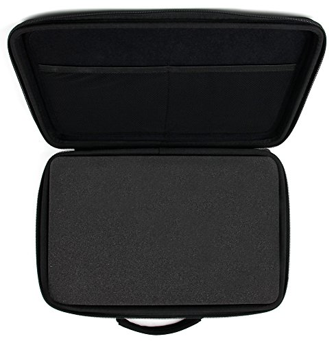 DURAGADGET Colt Defender Pistol BB Airgun Storage Case - Tough Black Armoured EVA 'Shell' Gun Case with Fully-Customizable & Shock-Absorbing D.I.Y Foam Interior for Colt Defender Pistol BB Airgun & Accessories - Please note: Any images of guns shown in this advert are for DISPLAY PURPOSES ONLY and are NOT included in this purchase. from DURAGADGET