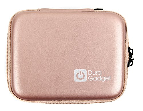 DURAGADGET Rose Gold Rigid Insulin Diabetes Medical Supplies Shell Storage/Travel Case | Dimensions 125 mm x 95 mm x 25 mm from DURAGADGET