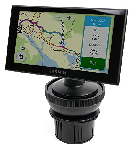 DURAGADGET Shock-Absorbing, Anti-Vibration, Adjustable In-Car Cup Holder Satnav GPS Mount - Compatible with Garmin Nuvi 2659LM *CUP HOLDER MOUNT ONLY - SUCTION MOUNT NOT INCLUDED* from DURAGADGET