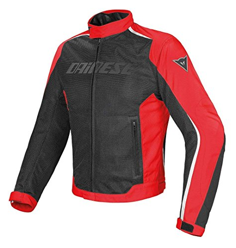 HYDRA FLUX D-DRY JACKET, Black/Red/White, Size 44 from Dainese