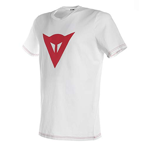 Dainese Speed Demon T-Shirt, White/Red, Size M from Dainese
