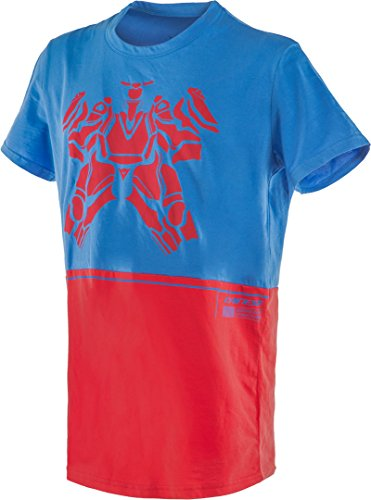 Dainese T-Shirt, Cobalt-Blue/Red, Size XXL from Dainese