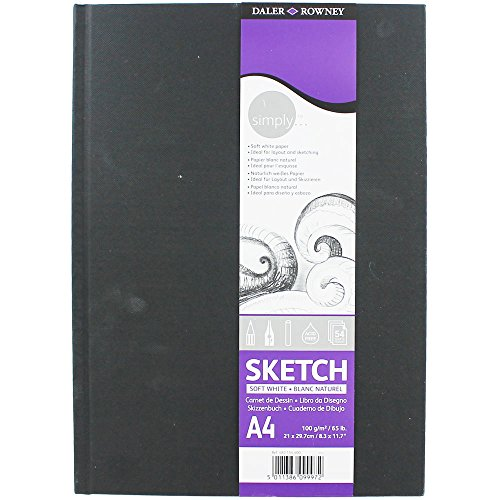 Daler Rowney Simply A4 Soft White Sketch Book from Daler Rowney