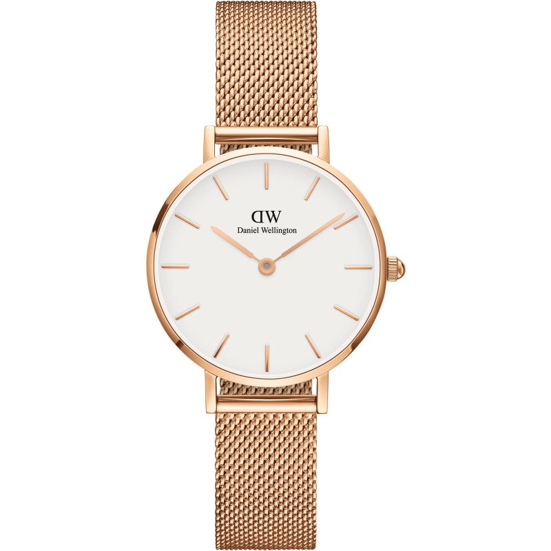 Ladies Daniel Wellington Classic Petite 28 Melrose White Watch from Daniel Wellington