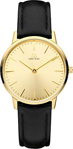 Danish Design Womens Analogue Quartz Watch with Leather Strap IV19Q1251 from Danish Design