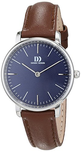Danish Design Womens Analogue Quartz Watch with Leather Strap IV22Q1175 from Danish Design