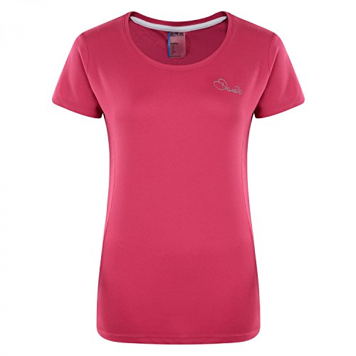 Dare 2b Women's Impulse T-Shirt - Electric Pink, Size 10 from Dare 2b