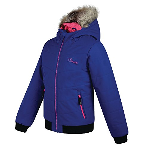 Dare2B Girls' Precocious Waterproof Insulated Jacket, Clematis, Size 11-12 from Dare 2b