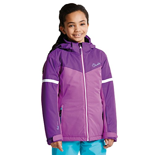 Dare2B Kid's Obscure Waterproof Insulated Jacket, Ultraviolet Purple, 9-10 Years from Dare 2b