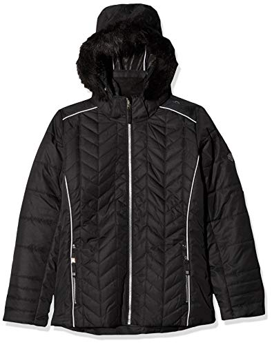 Dare2B Kid's Prodigal Waterproof And Breathable Insulated Ski Jacket, Black, Size 9-10 from Dare 2b