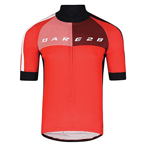 Dare2B Men's AEP Chase Out II Cycle Tops, Seville Red, Large from Dare 2b