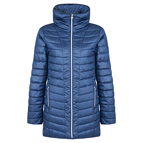 Dare2B Women's Longline Water Repellent And Insulated Ski Jacket, Blue Wing, Size 10 from Dare 2b
