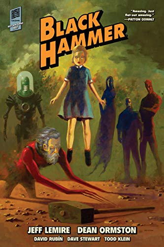 Black Hammer Library Edition Volume 1 from Dark Horse Comics