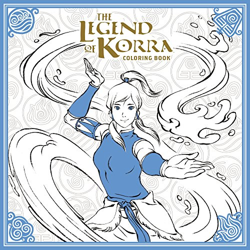 Legend Of Korra Coloring Book, The (Avatar: The Last Airbender) from Dark Horse Comics