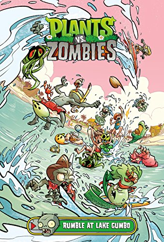 Plants vs. Zombies Volume 10 Rumble at Lake Gumbo from Dark Horse Comics