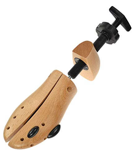 Dasco Mens Two-Way Wood Shoe Stretcher - Medium (UK 8 - 9.5 EU: 42 - 44) 2 Year Warranty from Dasco
