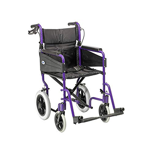 Patterson Medical Days Escape Lite Aluminium Wheelchair,  Purple - Narrow from Patterson Medical