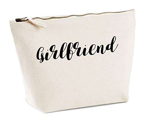 Girlfriend Make Up Accessory Bag In Natural Colour Black Print Birthdays Weddings Christmas Makeup from Daytripper