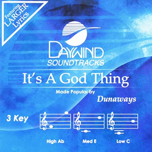 It's A God Thing [Accompaniment/Performance Track] from Daywind