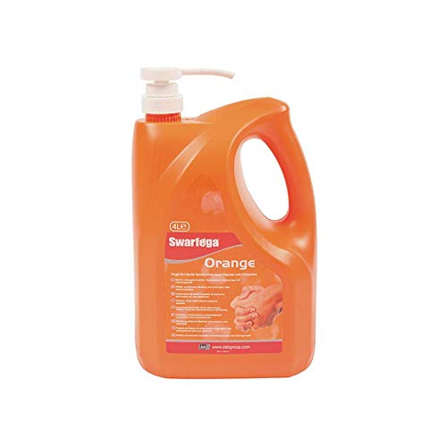 Deb Swarfega Orange Hand Cleaner with Pump, 4 L from Deb