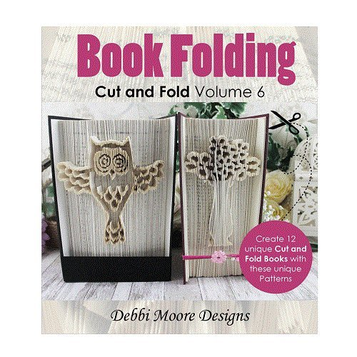 Debbi Moore Book Folding Cut & Fold Volume 6 CD Owl Love Mr & Mrs Baby (327294) from Debbi Moore