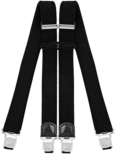 Men's Suspenders Strong-Willed Tiaobug Men Double Clip Adjustable Gentleman Elastic Leg Harness Sock Stays Garters Suspender Garter Business Holder Braces Belt