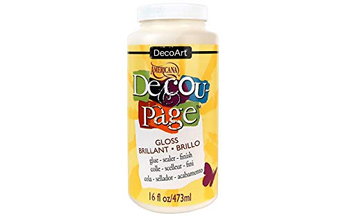 Deco Art Decoupage Americana Decou-Page Glue-16oz Gloss from Deco Art