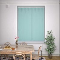 Kensington Plain Vertical Blind Duck Egg Duckegg from Decora Blinds