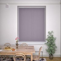 Kensington Plain Vertical Blind Sloe from Decora Blinds