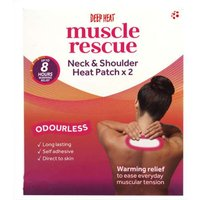 Deep Heat Muscle Rescue Neck and Shoulder Heat Patch 2 from Deep Heat