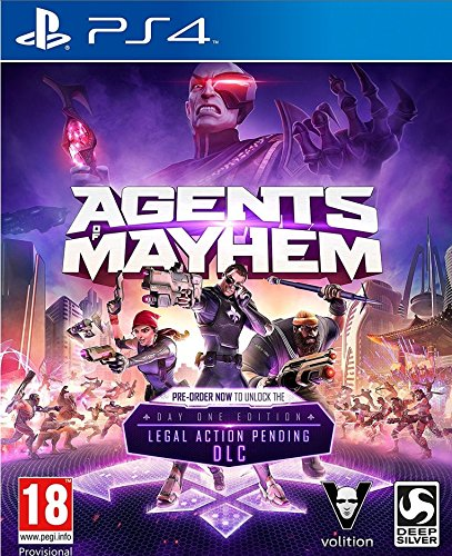 Agents Of Mayhem - Day One Edition (PS4) from Deep Silver