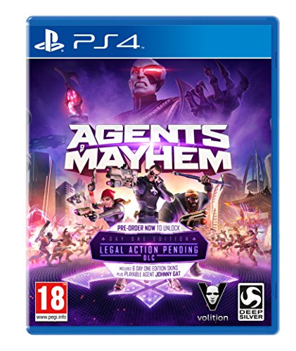 Agents of Mayhem: Day One Edition (PS4) from Deep Silver