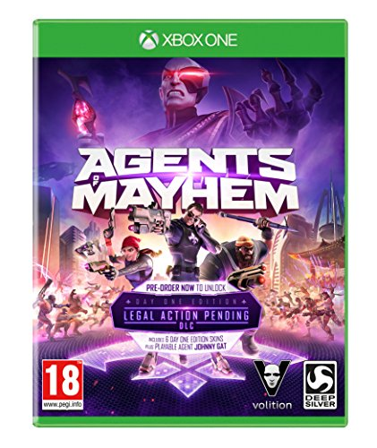 Agents of Mayhem: Day One Edition (Xbox One) from Deep Silver